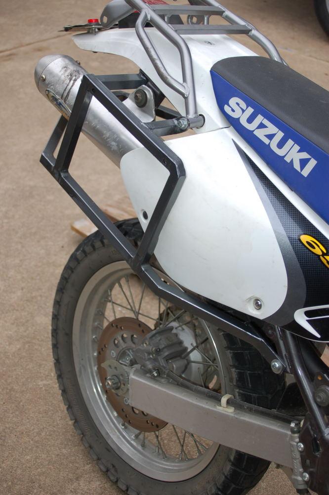 dr650 rack